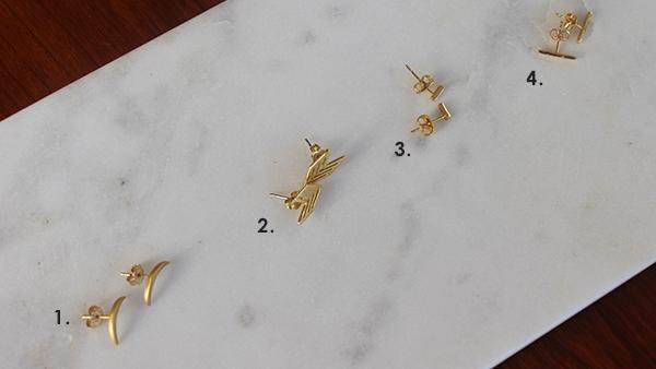 numbered-earrings