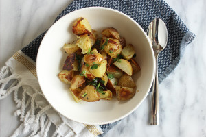 Lemon Roasted Potatoes - Missalaneyus