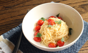 Tomato Basil Pasta - Missalaneyus