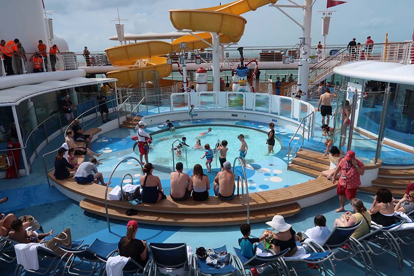 disney cruise magic pool