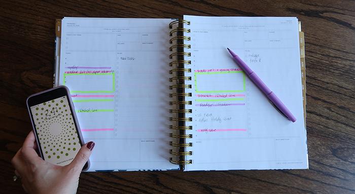 2019 goals intentions planner
