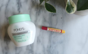 drug store beauty ponds burt's bees