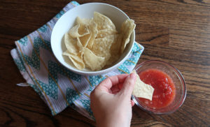 five ingredient fresh salsa