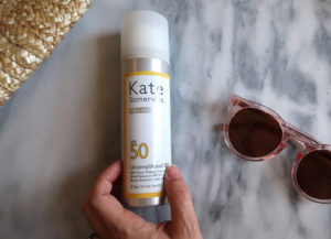 kate somerville sunscreen and make up setting spray