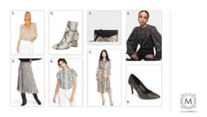 snakeskin fashion trend