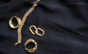 OMA jewelry gold